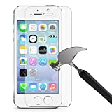 M.G.R.J (0.2mm) Pro HD+ 9H Hardness Toughened Tempered Glass Screen Protector for pple iPhone 5/5S/SE