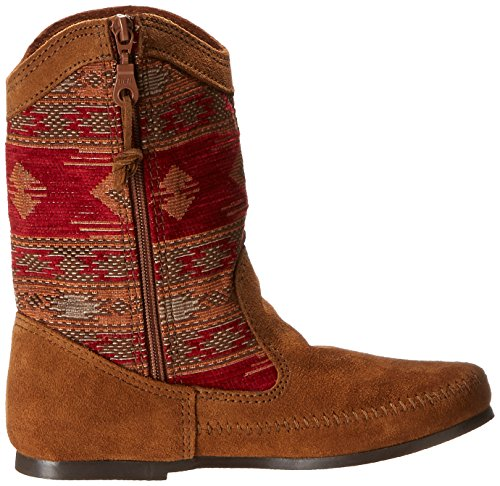 MINNETONKA - Baja Boot - Rouge