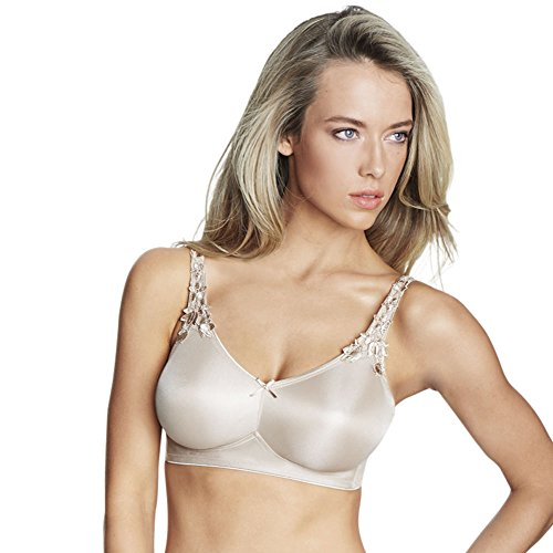 Bra Seamless Minimizer Underwire (Dominique Seamless Underwire Minimizer Bra, 36DD, Medium beige)