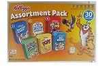 Kellogg's Cereal Jumbo Assortment Pack, 32.7 oz, 30 Mini Boxes