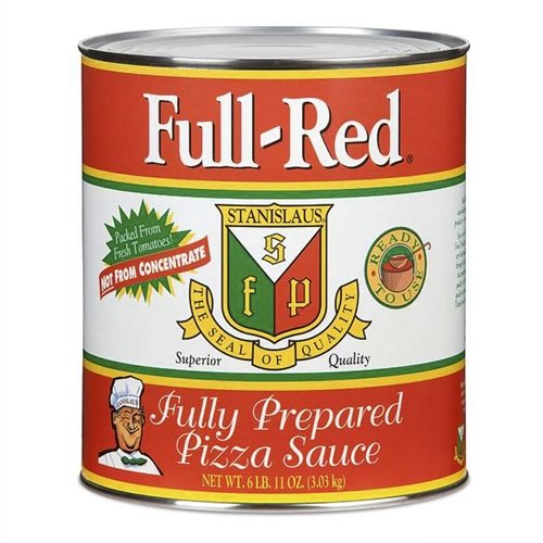Full Red Fully Prepared Pizza Sauce ()
