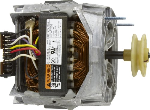 Whirlpool 21001950 Drive Motor with Pulley, 1.5 x 2.5 x 3.5 Inch, Silver