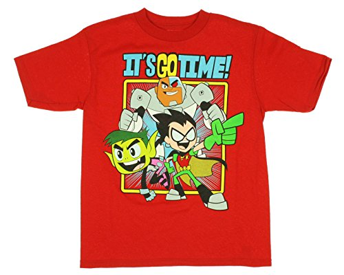 Teen Titans It's Go Time Youth Boy's T-Shirt