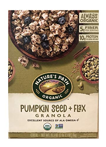 Natures Cereal Flax Path - Natures Path Organic Pumpkin Seed & Flax, 35.3 oz