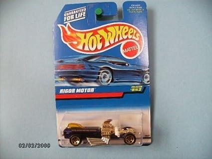 1998 Hot Wheels #852 Rigor Motor