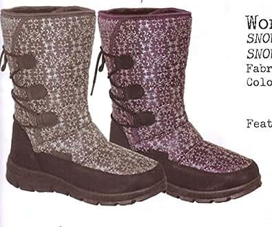 Amazon.com | World Famous Women`s Aspen Winter Boots