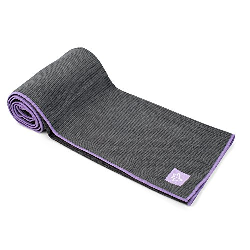 Luxury Sweat Grip Mat Towel: Joyne Tola™ Non Slip Yoga Towel ★ #1 Best Hot Yoga