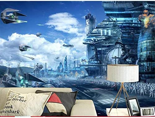 Ywj Custom 3d Photo Wallpaper Mural Living Room Star Wars Hd Fantasy Landscape 3d Painting Sofa Tv Background Wall Non Woven Sticker Buy Online At Best Price In Uae Amazon Ae