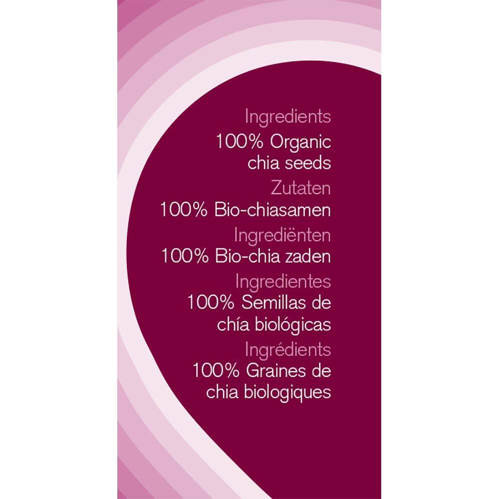 Naturya Chia Seeds 300 g: Amazon.es: Salud y cuidado personal