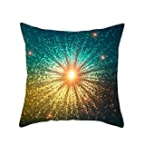 OrchidAmor Geometric Print Polyester Square Pillow case Sofa Throw Cushion Cover Home Decor 2019