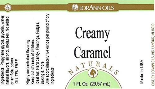 LorAnn Natural Creamy Caramel Flavor 4 Ounce