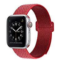 BEA FASHION Sport Bands Compatible with Apple Watch Band 38mm 42mm Soft Breathable Woven Nylon Replacement Sport Loop Band for Apple Watch Series 3 Series 2 Series 1