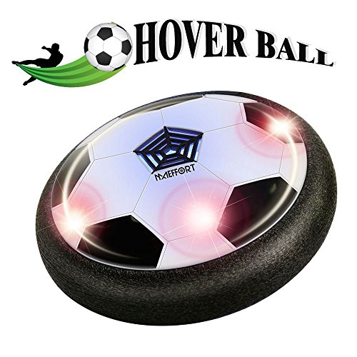 Maeffort Kids Toys The amazing hover ball with powerful LED light Size 4 Boys Girls Sport Children Toys Training Football for indoor or outdoor with parents game (Top Toys For 7 Year Old Boys)