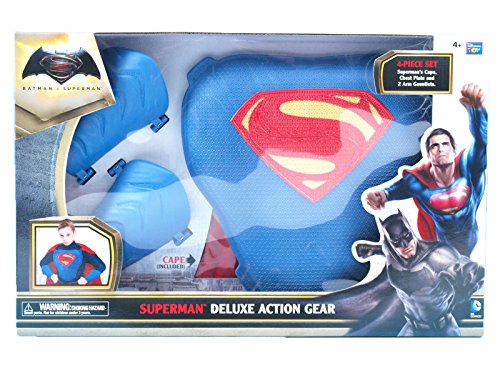 [Batman vs Superman: Dawn of Justice Superman Deluxe Action Gear] (Frank Miller Batman Costume)