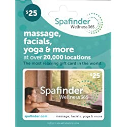 Spafinder Wellness 365 Gift Card $25