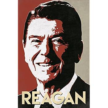 President Ronald Reagan Pop Art Portrait Poster 12x18
