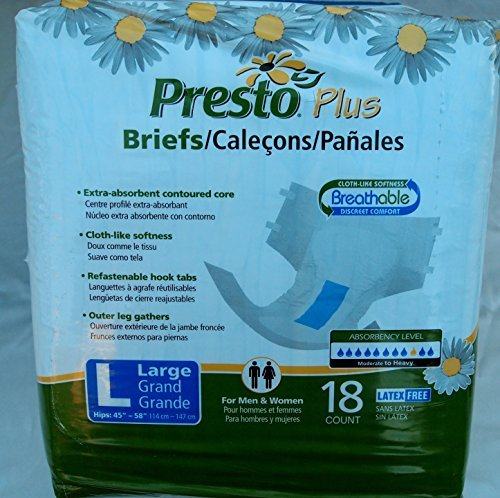 PRTABB21040PK - Presto Better Brief Large