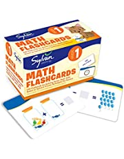 1st Grade Math Flashcards: 240 Flashcards for Building Better Math Skills (Addition & Subtraction, Place Value, Number Patterns, Comparing Numbers, Geometry, Time, Money)