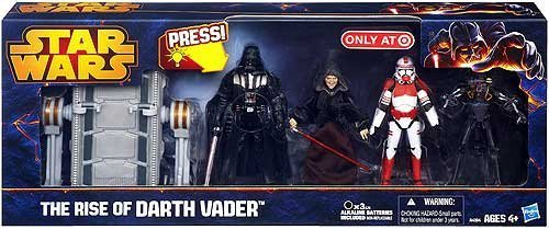 Hasbro Star Wars Exclusives 2013 The Rise of Darth Vader Exclusive Action Figure
