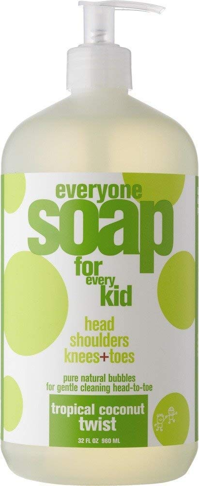 Everyone Soap For Every Kid 3 in 1 Head To Toes Variety Pack (Lavender Lullaby, Orange Squeeze, Tropical Coconut Twist) | 32 Oz, 3 Pack by  (Image #4)