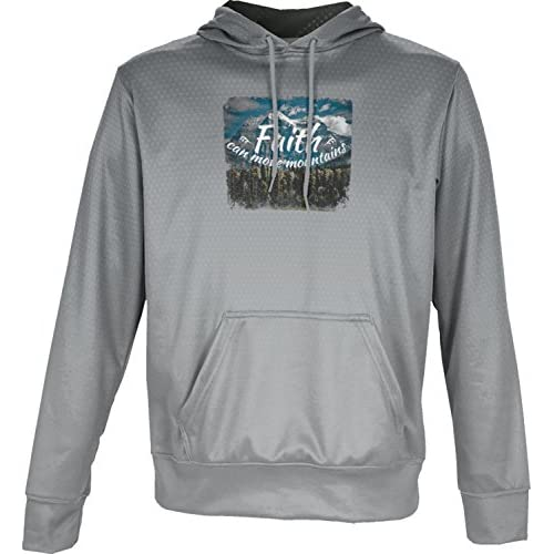 nice ProSphere Boys' Faith Can Move Mountains Religion Zoom Hoodie Sweatshirt (Apparel) supplies