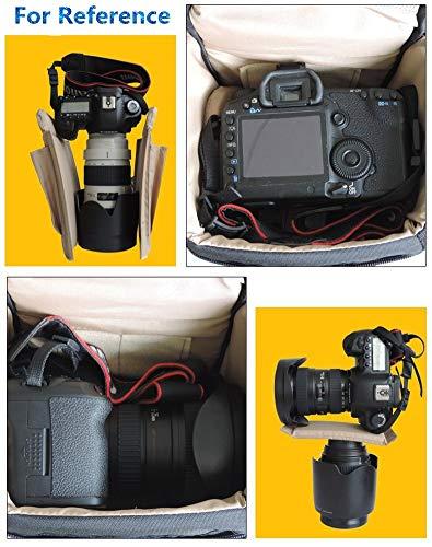 BaoLuo SLR/DSLR - Bolso Bandolera para cámara de Fotos (Triangular ...