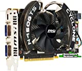 MSI N450GTS CYCLONE 1GD5/OC GeForce 450 Graphics Card - 850 MHz Core - 1 GB GDDR5 SDRAM - PCI Express 2.0 x16 (N450GTSCYCLONE1GD5/OC)