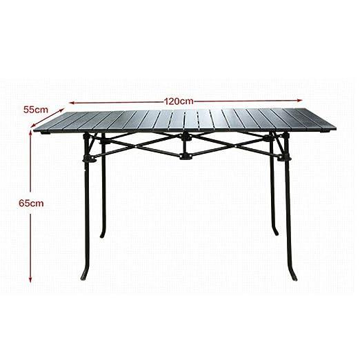 Gghy-camping tables Ensamble rápido Aluminio Ruede para Arriba ...