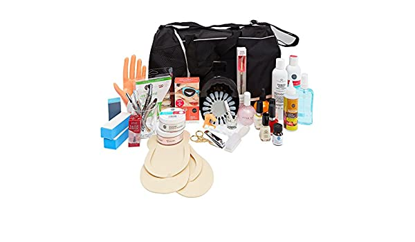 ASP Beauty School Professional Manicure and Pedicure Kit