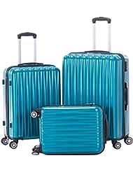 3pcs Spinner Luggage Sets Hardshell Lightweight Suitcase With TSA Lock