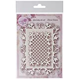 Wild Rose Studio Specialty Dies, 4 by 5-Inch and 2.25 by 3.25-Inch, Floral Frames