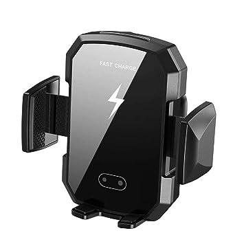 MYYINGELE Cargador Inalámbrico Coche, 10W Qi Rápida Wireless ...