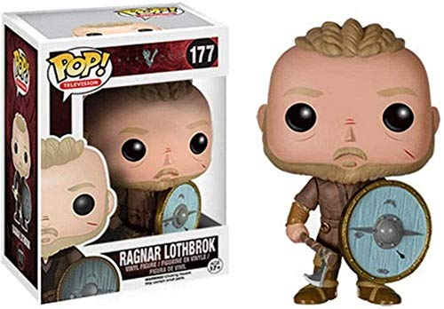 WENJZJ TV Vikings - Vinilo Coleccionable de Ragnar Lothbrok de Pop Television Series T