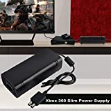 Power Supply Brick for Xbox 360 Slim, AC Adapter