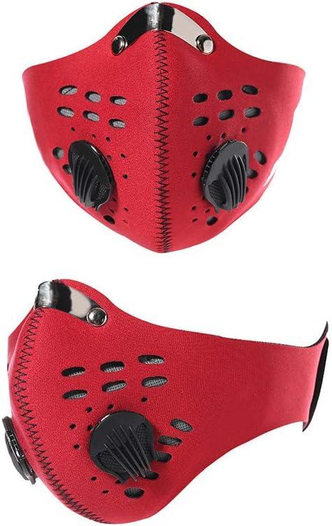 WXF Máscara, Filtro Semi-Prueba De Polvo del Polvo, Máscara De Carbón Activado, Deportes Máscara De Bicicleta De Montaña, La Máscara De Parabrisas, Máscara De Montaña, Máscara Anti-Vaho
