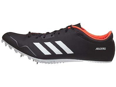 buy online 4f3da 0fbc3 adidas Adizero Prime Sp Running Shoe, Core Black, FTWR White, Orange, 7
