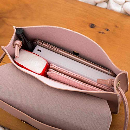Fashion Shoulders Messager lettre Porte Lady Téléphone Petit À Mobile Dos Rose Sac De r5rFPwqa