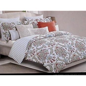 nicole miller luxurious designer bedding 3 piece fullqueen sizecotton duvet cover set large