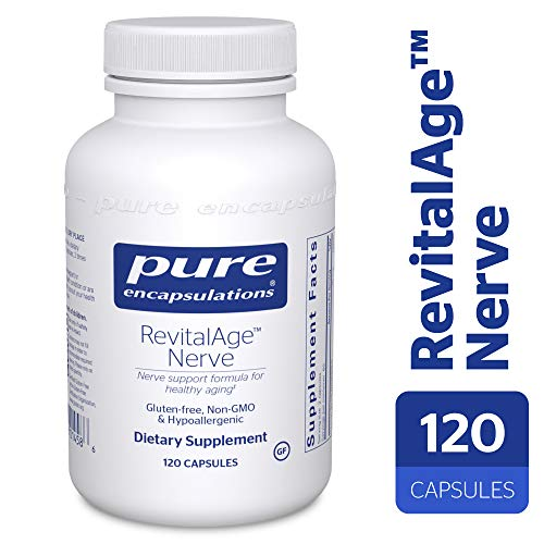 Pure Encapsulations - RevitalAge Nerve - Hypoallergenic Supplement for Enhanced Cardiovascular, Metabolic and Neurocognitive Support* - 120 Capsules