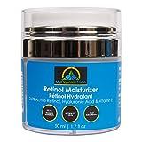My Organic Zone Retinol Moisturizer Cream and Skin-Hydrator, Anti-Aging, Anti-Wrinkle Moisturizing Face Lotion for Dry and Sensitive Skin, 1.7 fl. oz./50 ml
