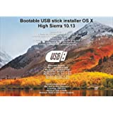 Bootable USB Stick for macOS X High Sierra 10.13 - Full OS Install, Reinstall, Recovery and Upgrade