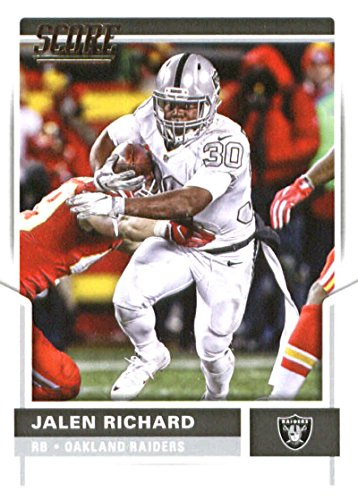 2017 Score #65 Jalen Richard Oakland Raiders Football Card