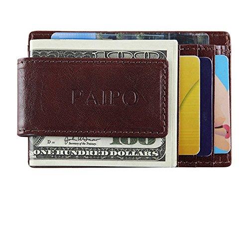 Brown Slim Dark Billets Pince Sac Card Haute Brown Unisexe Lady Type Visite d'organe Carte Dark rabbit qualité Color à de Case Lovely B1wqzw