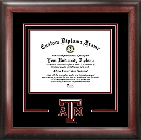 NCAA Texas A&M Aggies Spirit Diploma Frame, 12.5 x 16