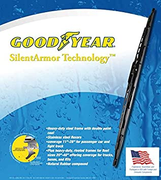 Amazon.com: 2002-2012 Jeep Liberty Replacement Wiper Blade Set/Kit (Set of 3 Blades) (Goodyear Wiper Blades-Premium) (2003,2004,2005,2006,2007,2008,2009 ...