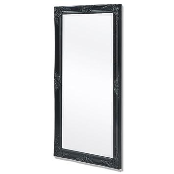 Vidaxl Miroir Mural Pour Chambre Salle De Bain Style Baroque 120 X