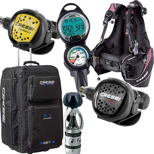 Cressi Travelight Womens Package