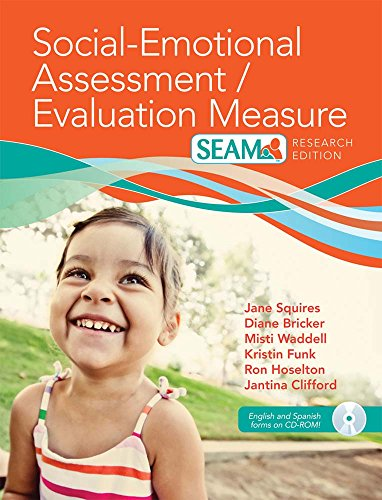 Social-Emotional Assessment/Evaluation Measure (SEAM™) (English and Spanish Edition)