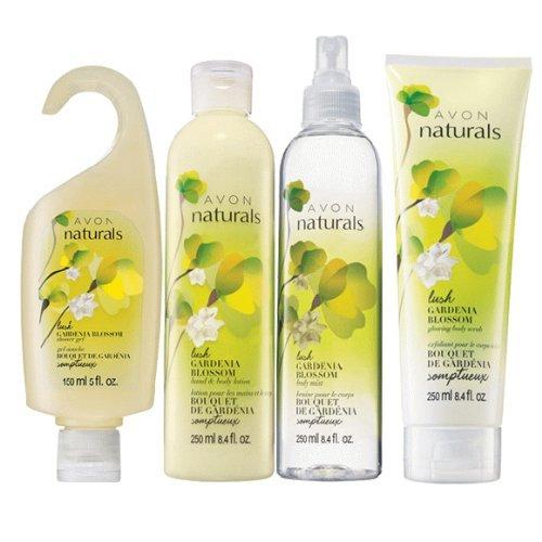 Avon Naturals Lush Gardenia Blossom Bath & Body (Gardenia Blossom)