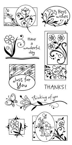 Inkadinkado Garden Greetings Clear ()